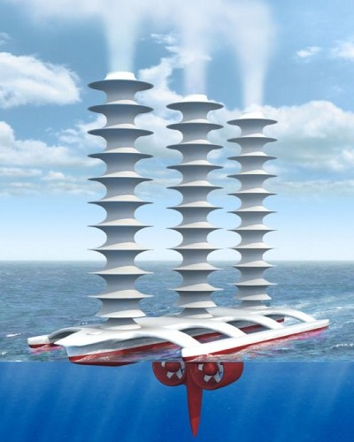 A spray ship to seed clouds