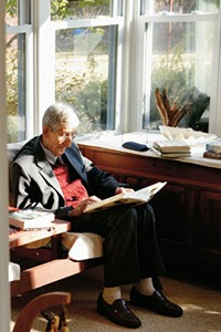 Freeman Dyson at home
