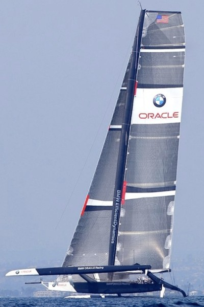BMW Oracle America's Cup trimaran