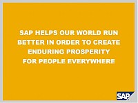 SAP mission statement